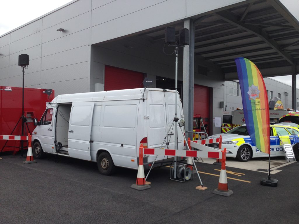 Emergency Services Open Day - Site Outdoor PA System