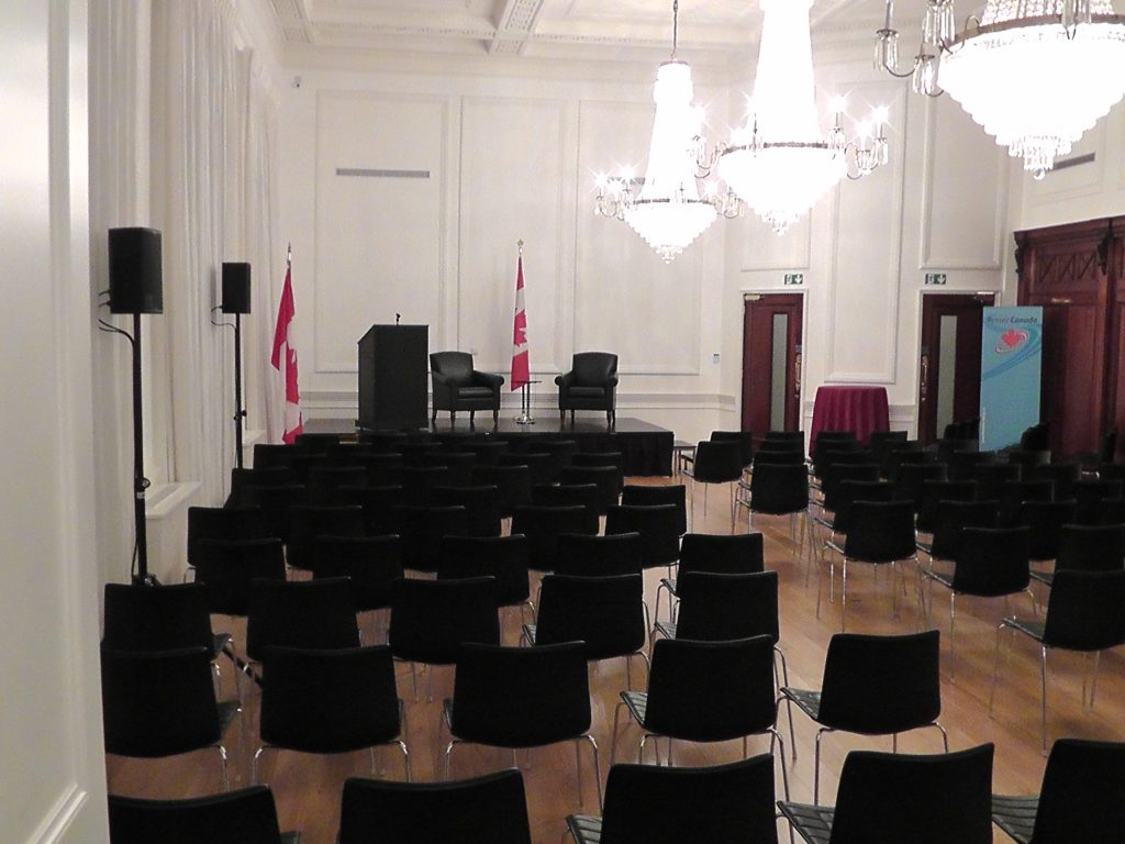indoor sound services for meetings conferences and events