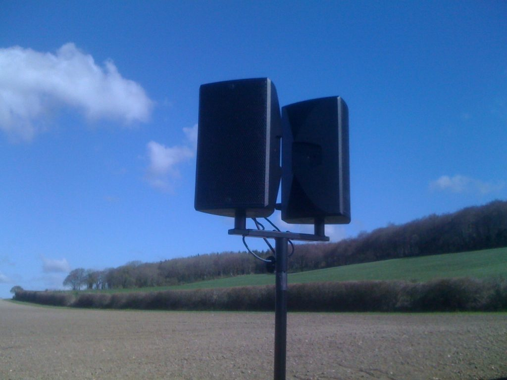 loud & clear public address systems for outdoor events
