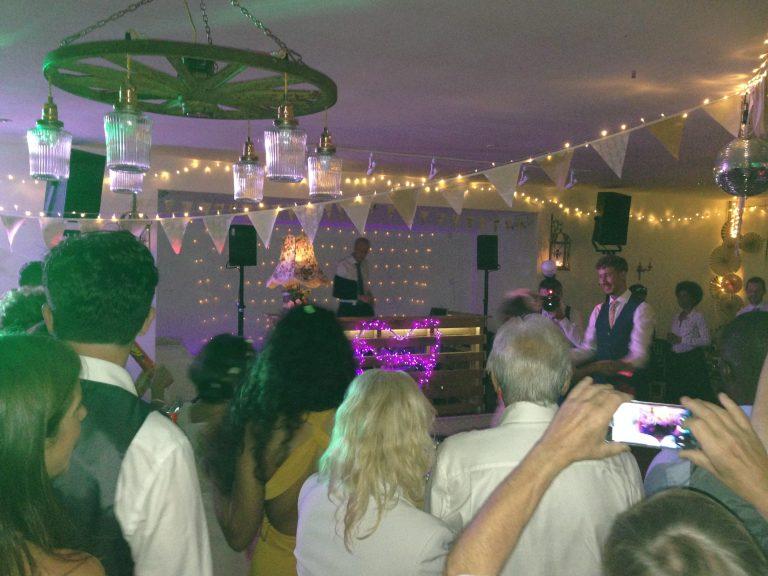 Wedding Reception - DJ PA Sound Hire & Pioneer CDJ Hire