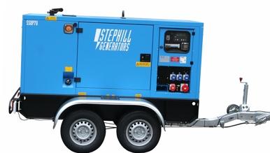 Stephill 70kva generator