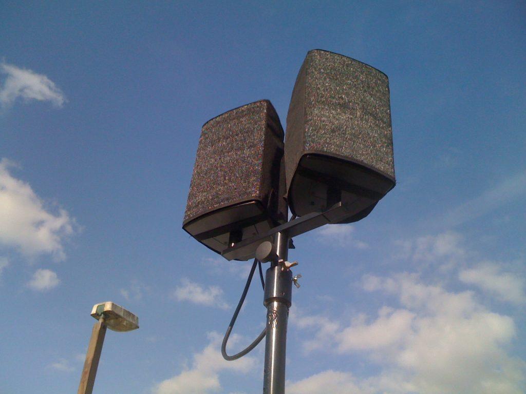 dog show outdoor speakers
