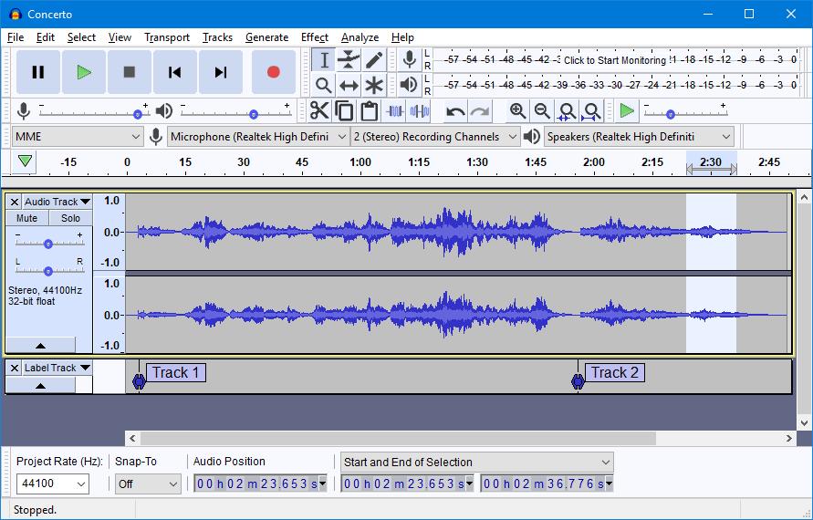 eventpahire audio recording service