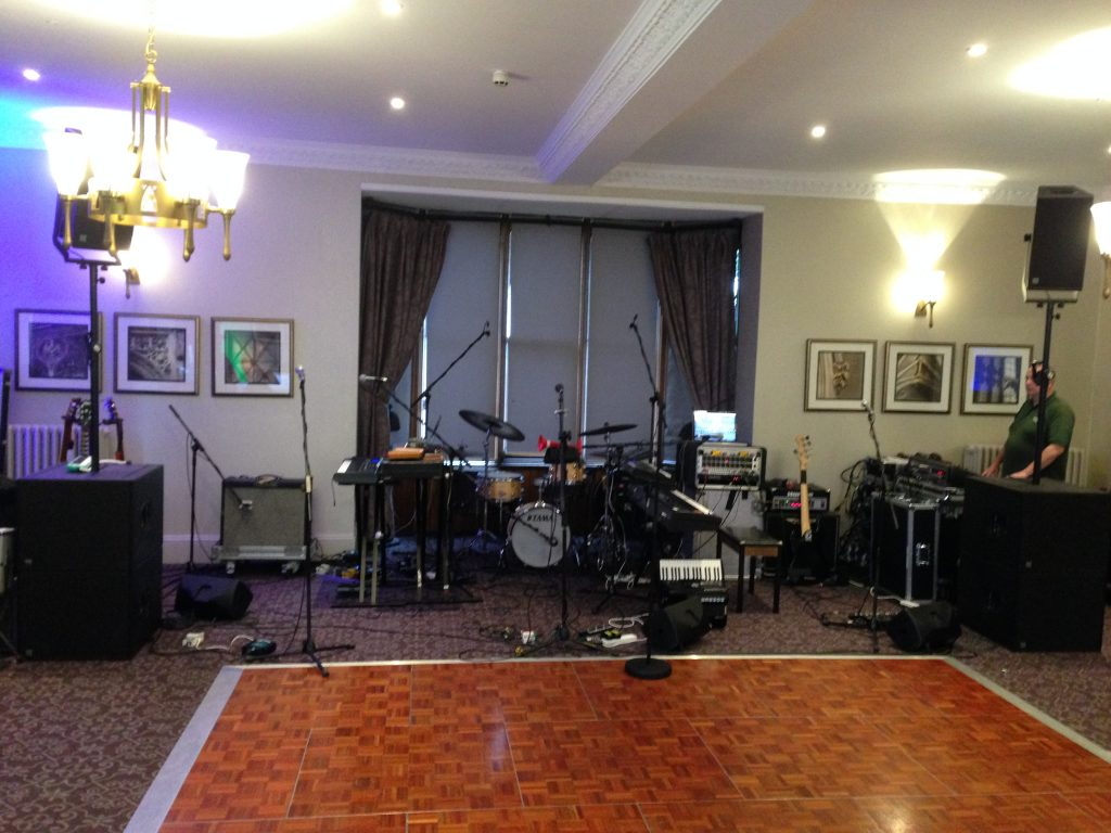 live band PA system