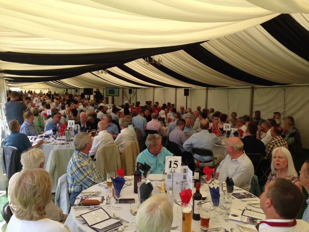 luncheon marquee sound system