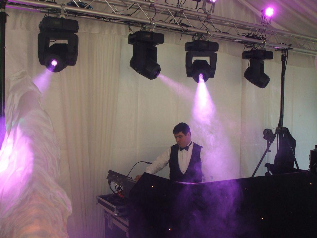 marquee wedding DJ